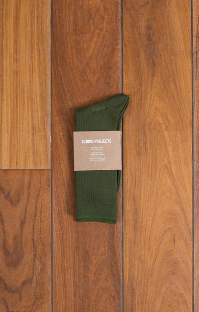 Bennedikte Sock Ivy Green