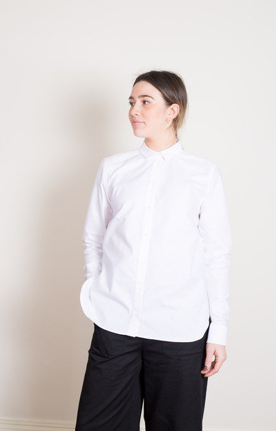 Elva Oxford Shirt White