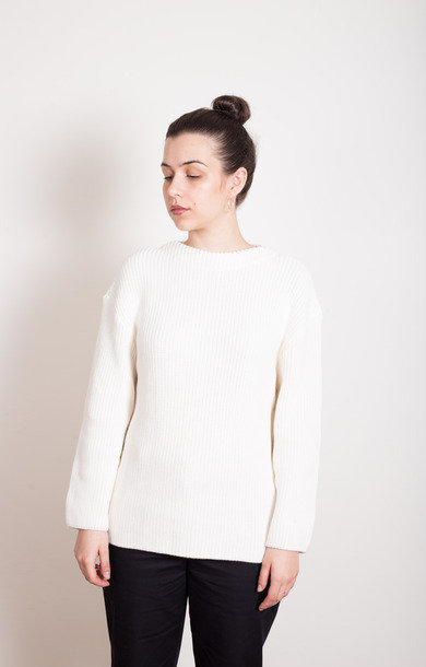 Hanne Cotton Jumper Ecru