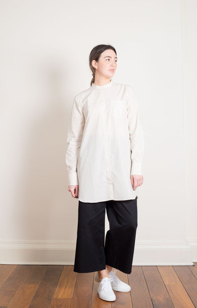 Pella Light Cotton Blouse Ecru
