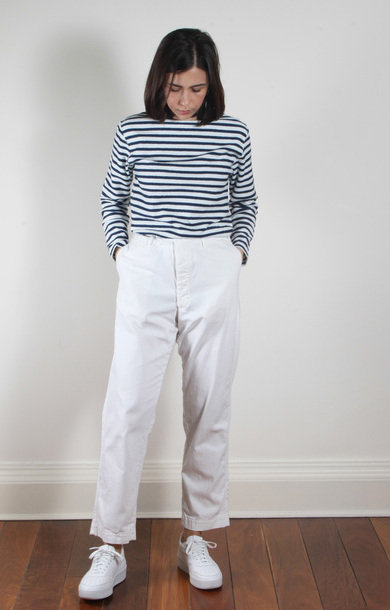 Antique Trousers White