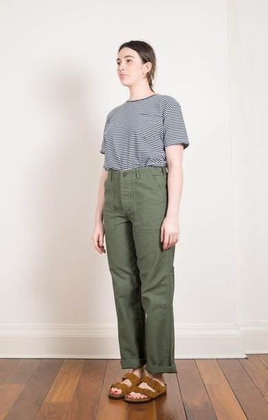 Army Fatigue Pants Green