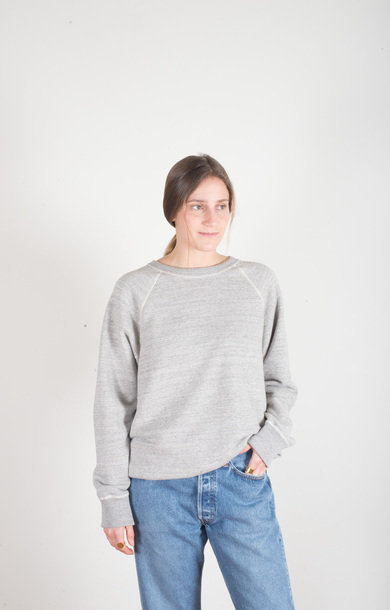 Crew Neck Sweatshirt H Grey