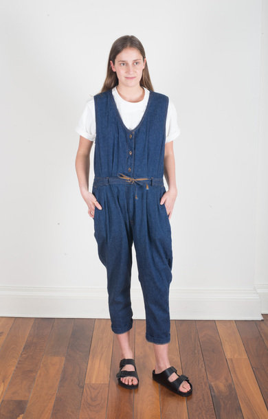 Denim Jumpsuit 6oz