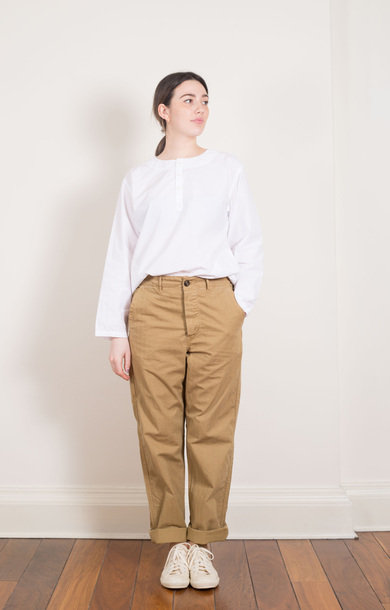 French Work Pants Khaki