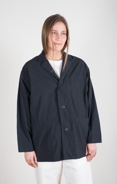 Pajama Jacket Navy
