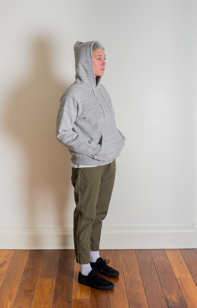 Pullover Hooded Sweatshirt Grey