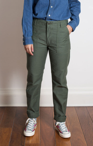 Slim Fit Fatigue Pants Green Original