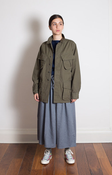 US Army Tropical Coat Ripstop Poplin