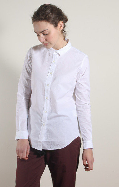 Ivory Cotton Classic Shirt