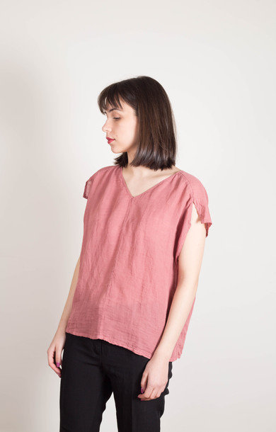 Boxy Tee Indian Red