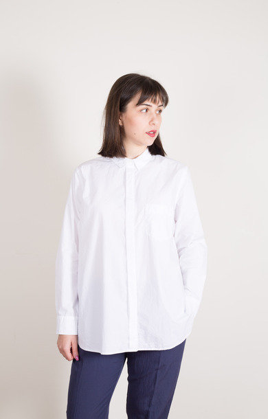 Classic Shirt w/ Pocket White