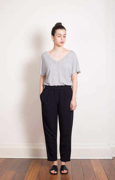 Easy Black Trouser