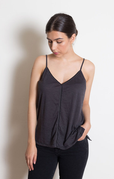 Grey Woven Camisole