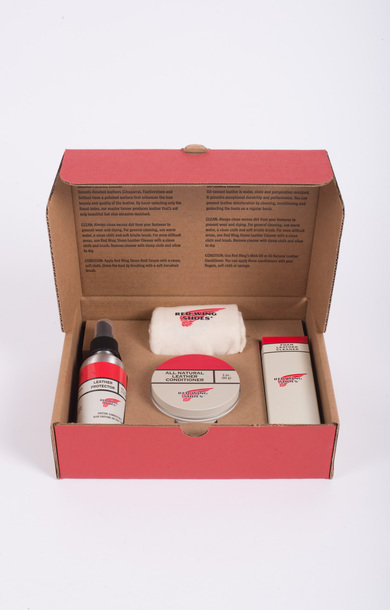 Oil Tanned Leather Care Kit
