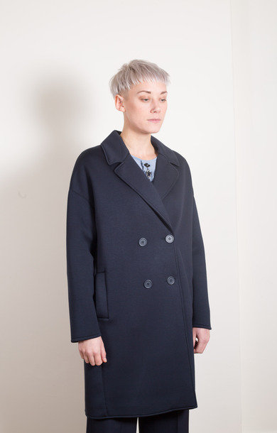 Charlot Coat Ultramarine