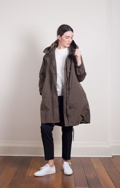 Faillep Overcoat Green
