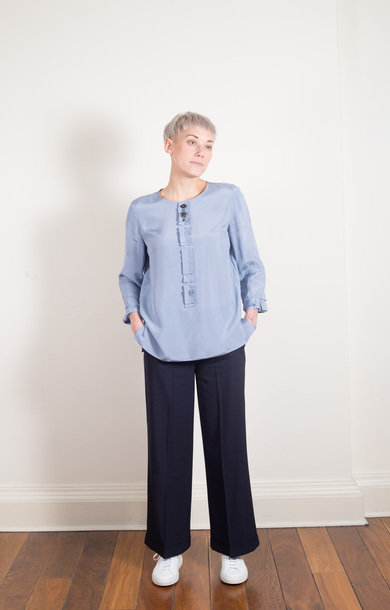 Fascino Blouse Sky Blue