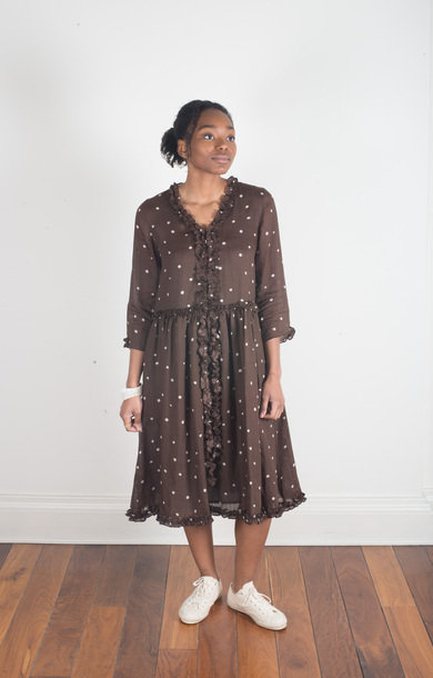 Gianni Dress Brown