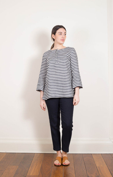 Lison Striped Blouse