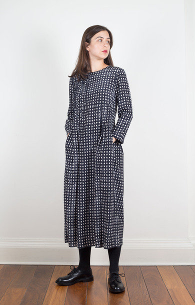 Soraga Dress Midnight Blue