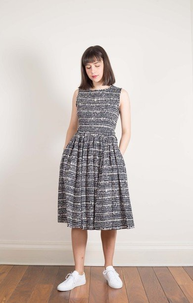 Spigma Dress Midnight Blue