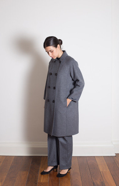 Vanda Coat Medium Grey