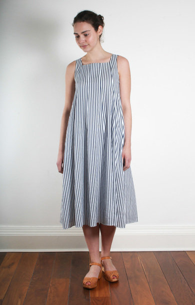 Zeda Navy/White Stripe