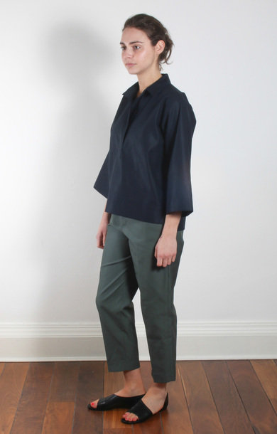 Bahamas Blouse Pocket Midnight