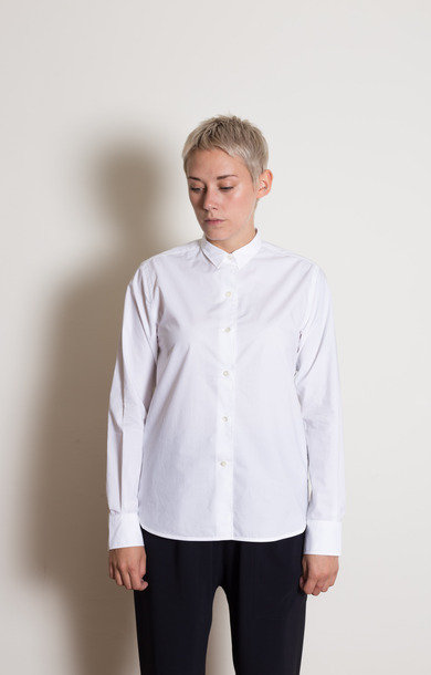 Bath Classic Long Sleeve Shirt Bianco