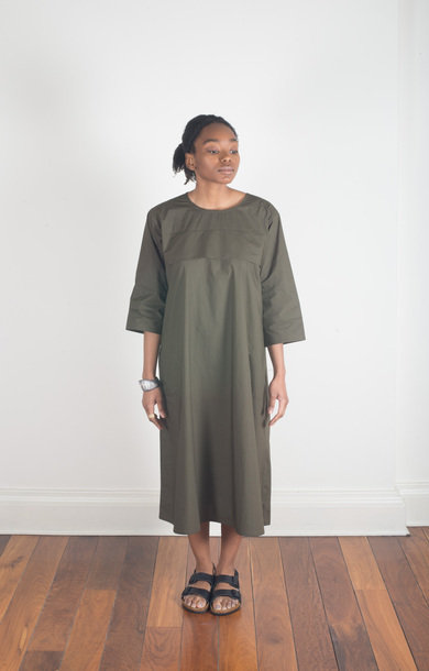 Daffodil Long Sleeve Dress Caper
