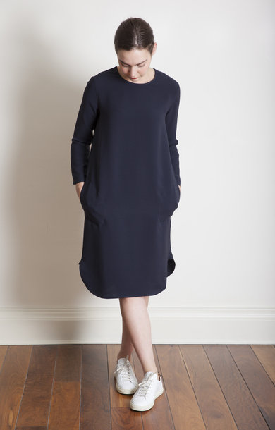 Drum Midnight Classic Crewneck Dress