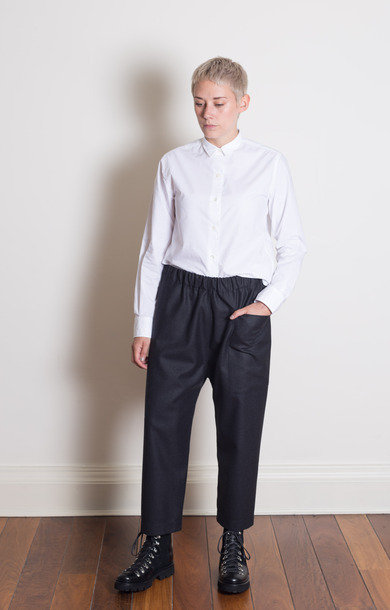 Punch Drawstring Pants Anthracite