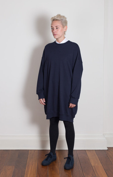 Titan Cotton Fleece Dress