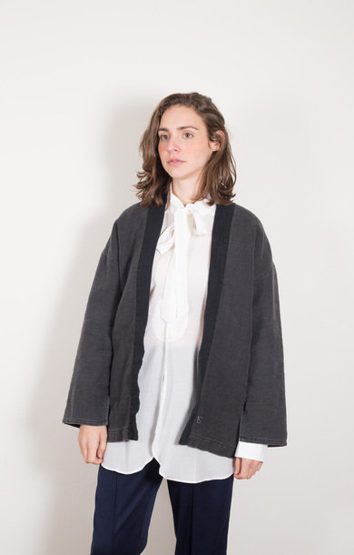 Harvesty Haori Black