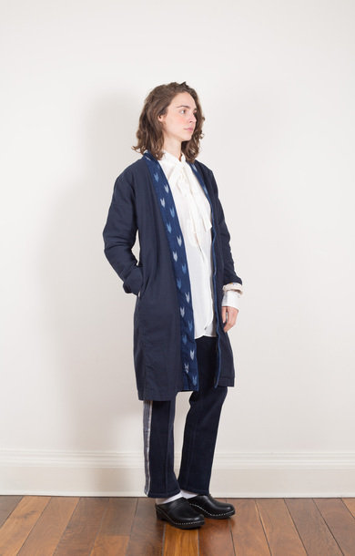 Traveller Half Coat Navy