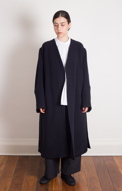 Maselli Coat Dark Navy