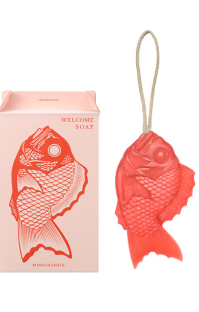Welcome Soap Fish Shape Pomegranate
