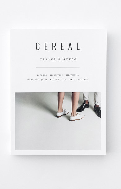 Cereal - Travel & Style Magazine