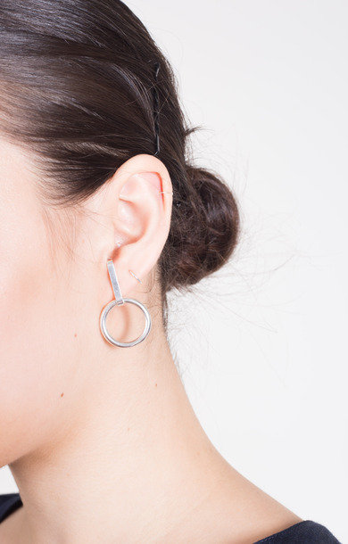 Earring Trail Loop Silver