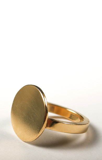 Ring Memento Round Gold