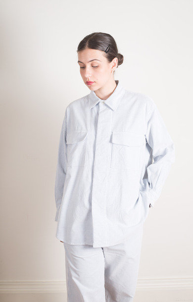 Big C.P.O. Shirt Jacket Hickory Stripe