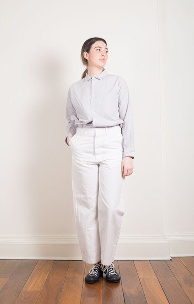 Waist Overalls Dusty White