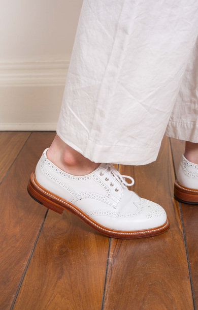 Anne Derby Brogue White