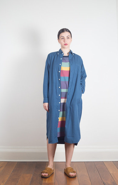 BD Shirt Dress Blue