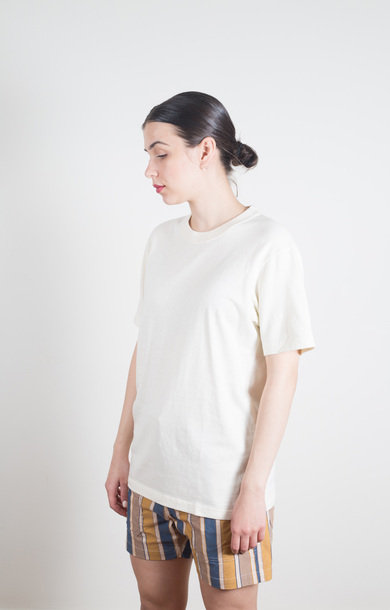 Crew Neck T-Shirt Natural