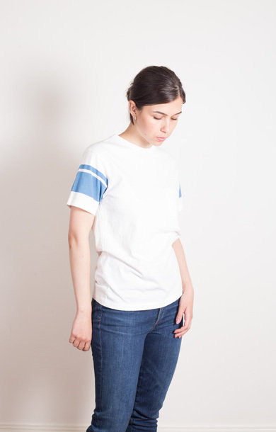 College Arm Stripe Tee