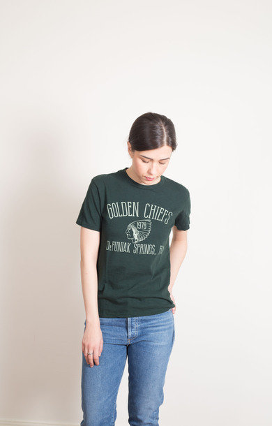 Golden Chiefs Tee Green