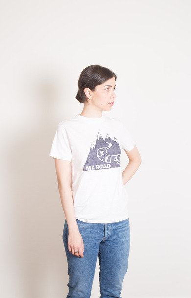 Mt. Road Tee White