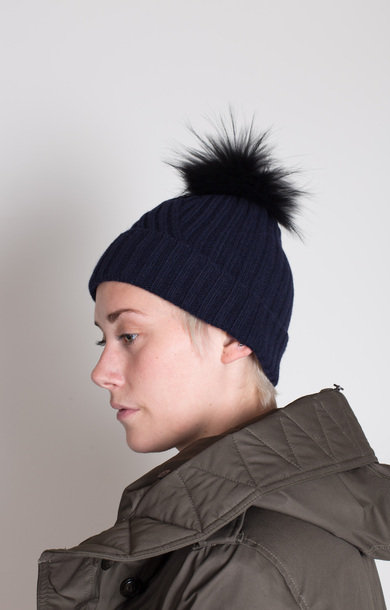 W'S Soft Wool Hat Navy